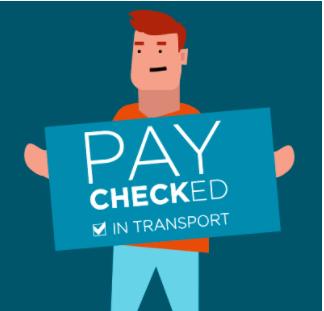 paychecked behalen in transport