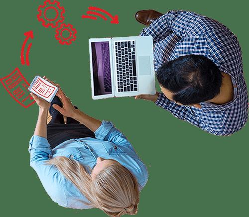 aanleveren van facturen via een online boekhouder